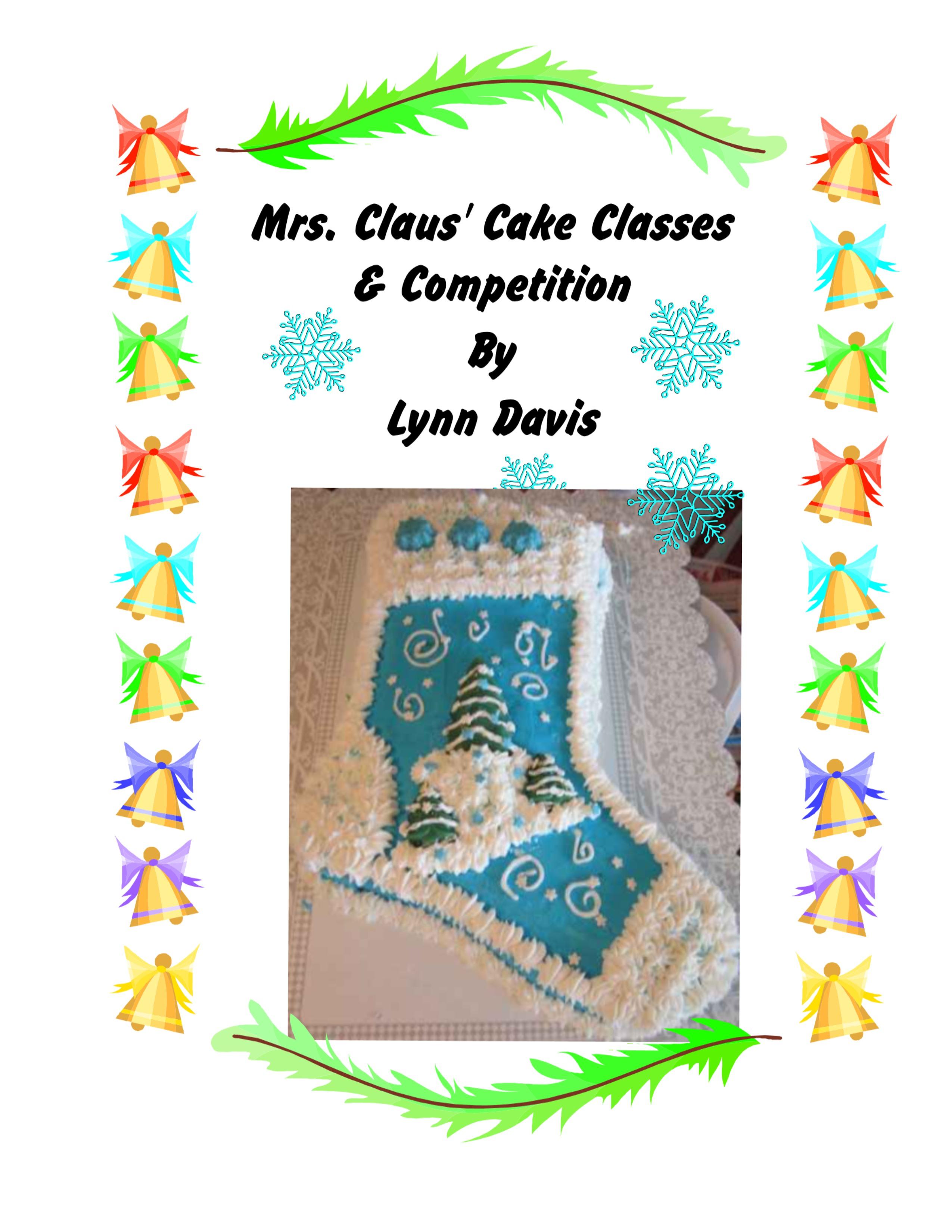 mrs claus cooking class pg1 lynndaviscakes