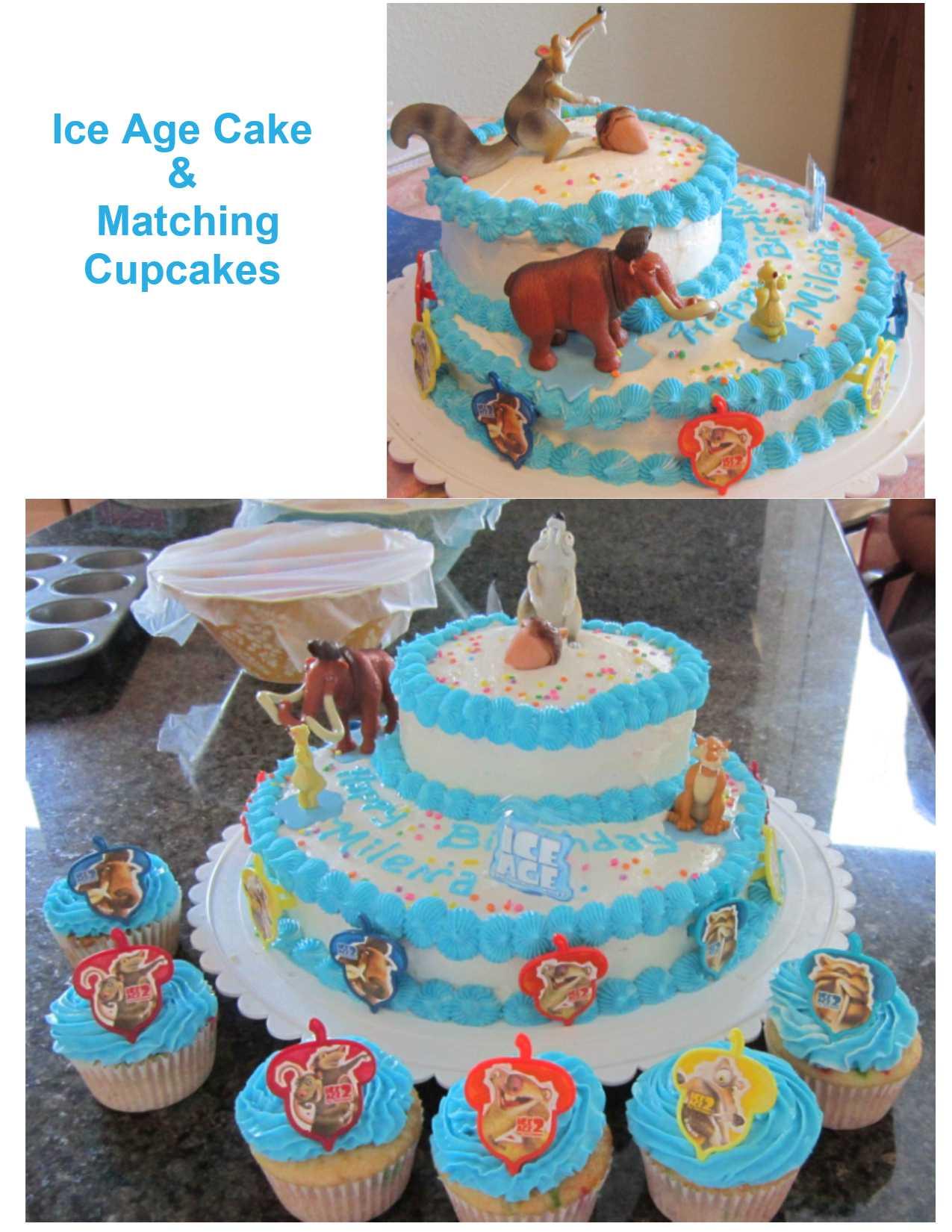 Ice Age Cake Lynndaviscakes