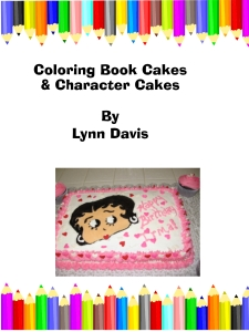 Coloring Book Cake Kindle Cover
