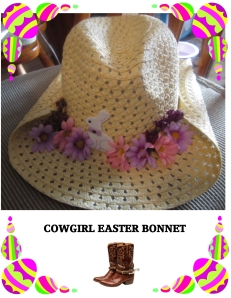 COWGIRL BONNET