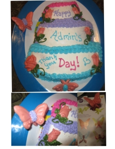Admin cake