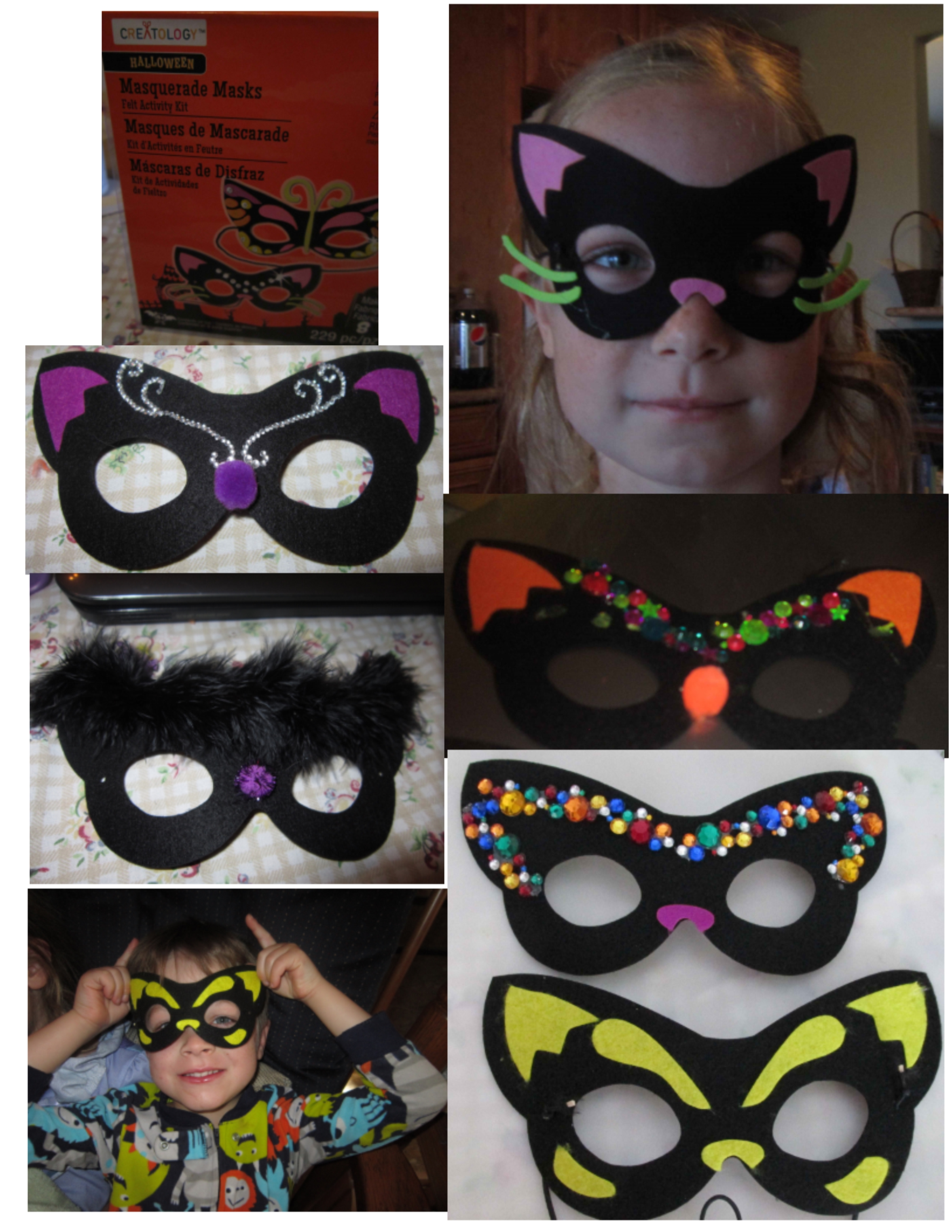 Make your own halloween mask lynndaviscakes for Make your own halloween mask online
