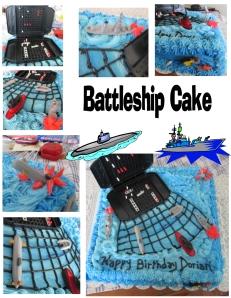 battleship cake