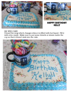 Dr Who Cake Kelly BD