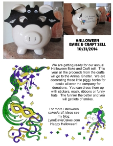 Halloween piggy bank