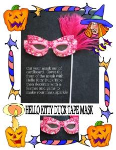 Hello kitty Halloween Mask