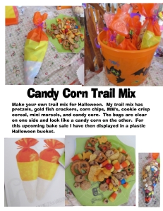 Candy Corn Trail Mix