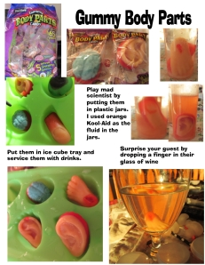 Gummy Body Parts