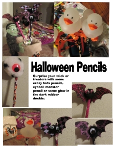 Halloween Pencils