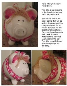 Hello Kitty Pig