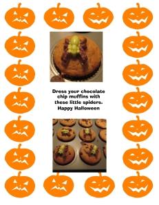 spider muffins