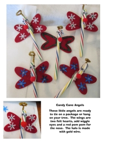 Candy Cane Angels