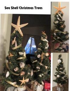 Sea Shell Christmas Trees