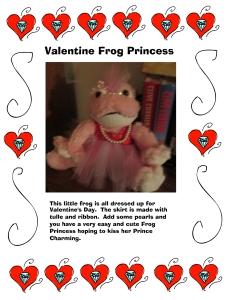 Valentine Frog Princess