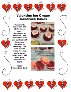 Valentine Ice Cream Sandwich