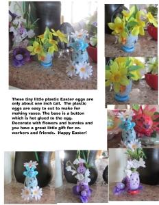 Mini easter egg vase