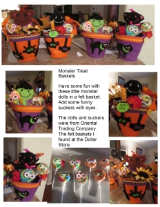 Monster Baskets