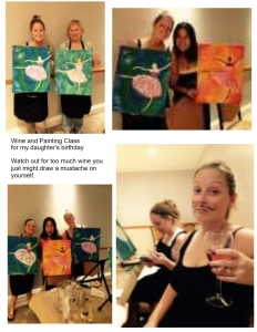 wine and painting kels