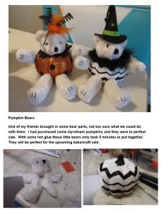 pumpkin bears