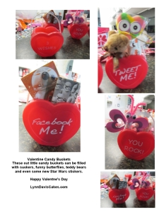 Candy bucket valentine