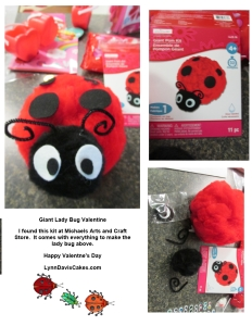 Ladybug valentine