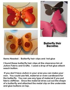 Butterfly Barretts