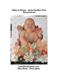 ANNE GETTE RECYCLE Baby in Roses