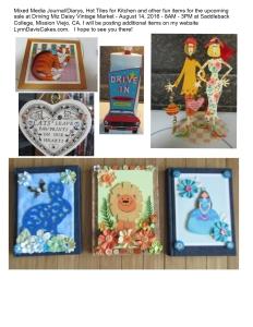 Swap Meet Misc journals etc pictures 08052016