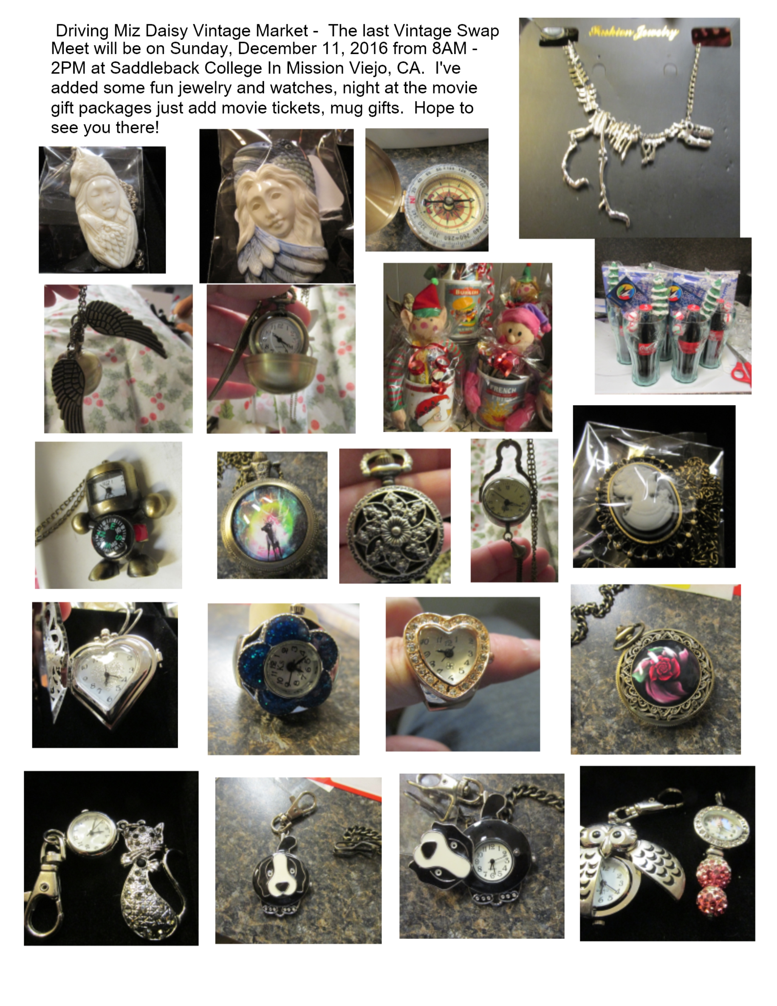 Vintage swap meet jewelry watches lynndaviscakes for Jewelry slauson swap meet