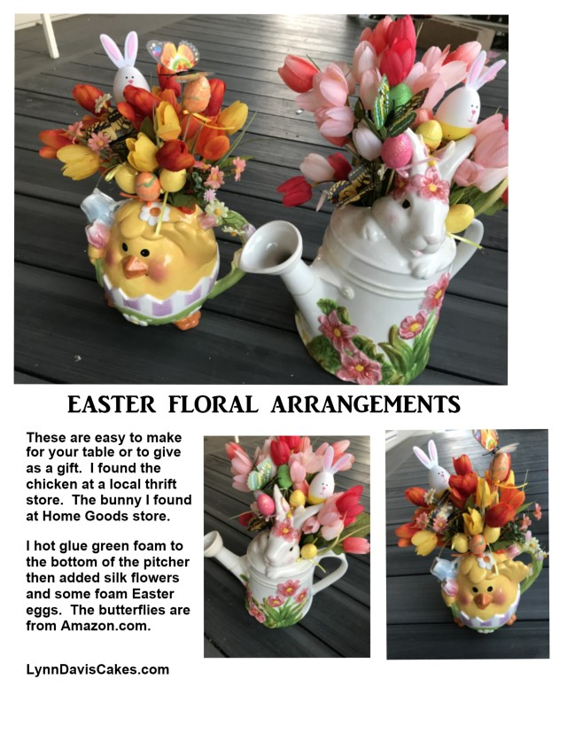 Easter Pitcher