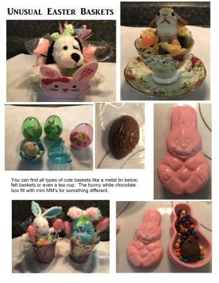 Unusual Easter Baskets