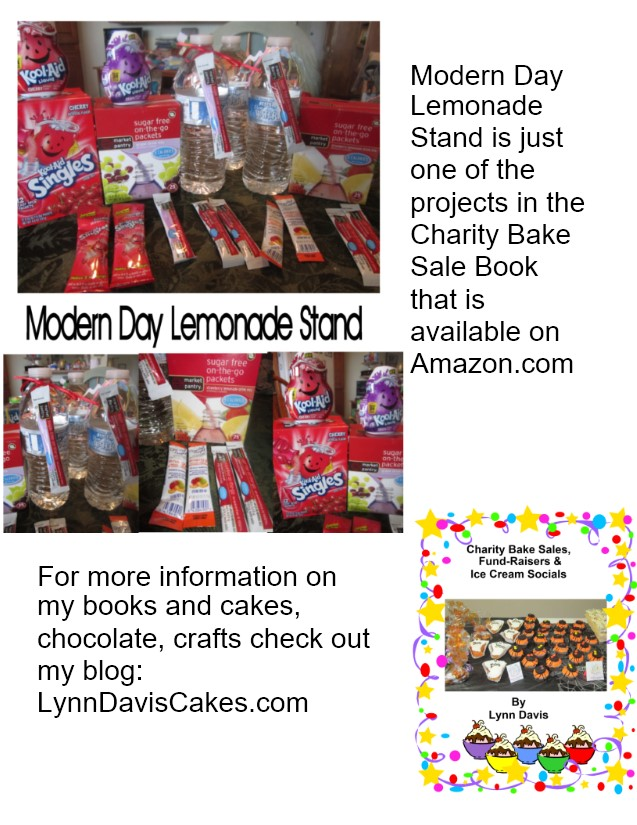 charity bake sale book ad
